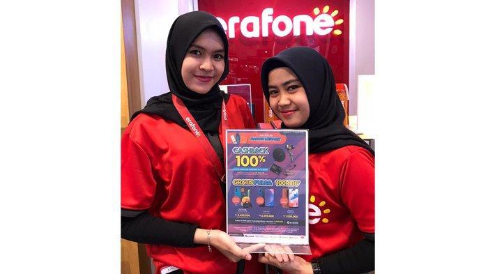 Erafone Living World Pekanbaru Berikan Cashback Rp 500 Ribu Setiap Belanja Aksesoris Rp 2 Juta