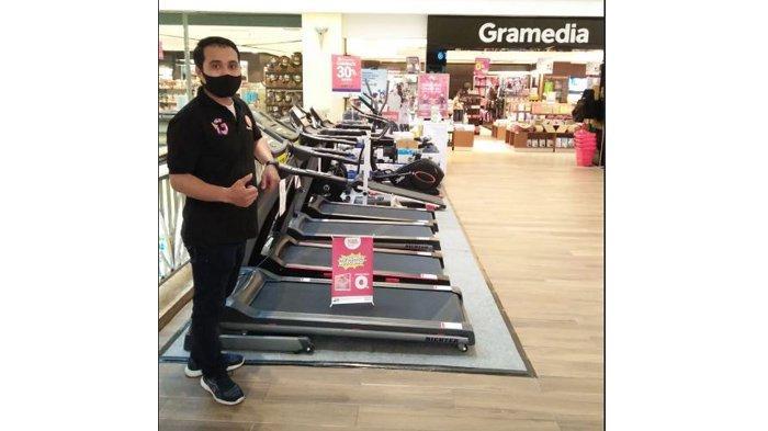 Alat Fitness Diskon Sampai 40 Persen di Gramedia Mal SKA