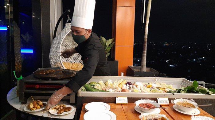 Hotel Grand Central Hadirkan Universe Buffet di Sky Lounge, Dinner Sambil Nikmati View & Live Music