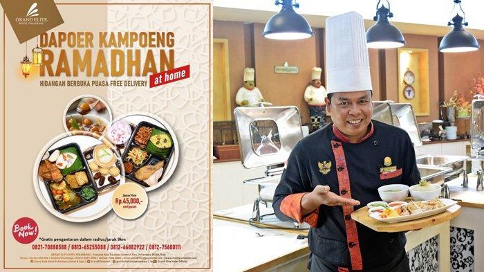 Grand Elite Hotel Kembali Hadirkan Dapoer Kampoeng Ramadhan, Paket Berbuka Gratis Diantar ke Rumah