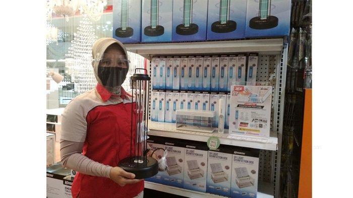 Lampu UV Disinfektan Portable Praktis Membunuh Virus dalam Ruangan