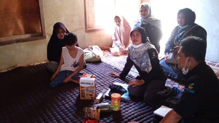 Jangkau Penyandang Disabilitas dan ABH, Balai Anak Rumbai Beri Bantuan Nutrisi di Pelalawan