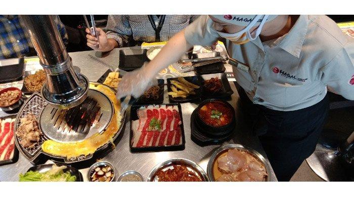 Serunya Barbeque-an di Magal Korean BBQ Living World Pekanbaru
