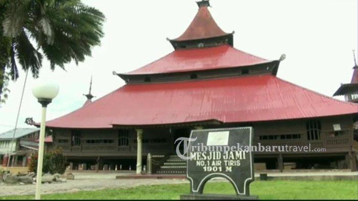 Dibangun Tanpa Paku, Inilah Berbagai Keistimewaan Masjid Jami Air Tiris Kabupaten Kampar