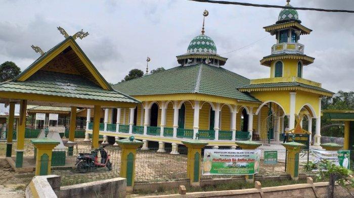 Masjid Hibbah di Kelurahan Pelalawan Kecamatan Pelalawan Kabupaten Pelalawan