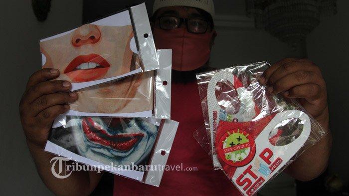 Sejak Dipakai Menteri Tito, Penjualan Masker Scuba Motif Wajah di Pekanbaru Langsung Meningkat