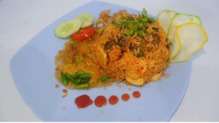 Nasi Goreng Kerang Sumatera yang Menggugah Selera, Kualitas Bintang Lima, Harga Kaki Lima