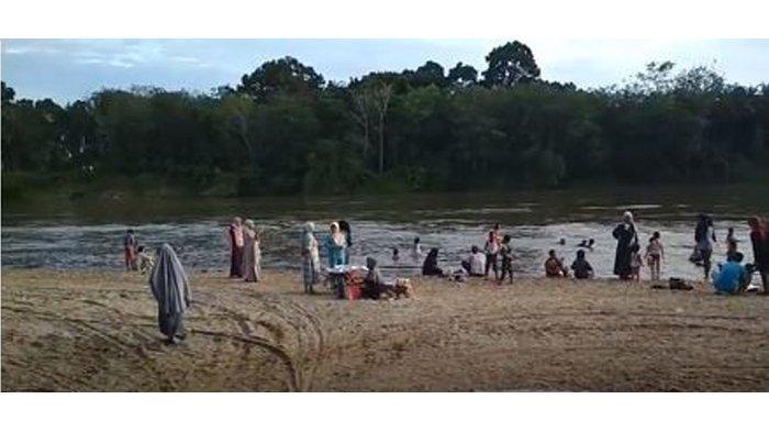 Menikmati Wisata Alam di Pulau Kerikil Kabupaten Kampar