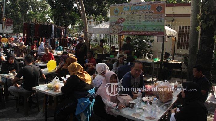 Pasar Kaget CFD, Surganya Penikmat Kuliner di Pekanbaru