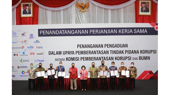 Cegah KKN, Pelindo 1 & KPK Teken Kerja Sama Penanganan Pengaduan Tindak Pidana Korupsi Terintegrasi