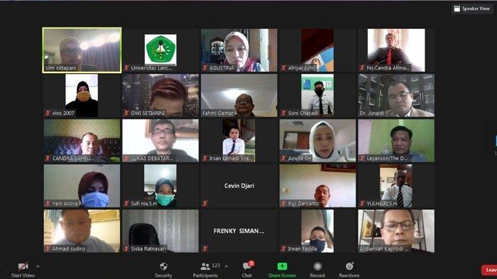 Mahasiswa Pascasarjana Unilak Meningkat di Masa Pandemi, Pihak Kampus Gelar Pamaba Secara Virtual