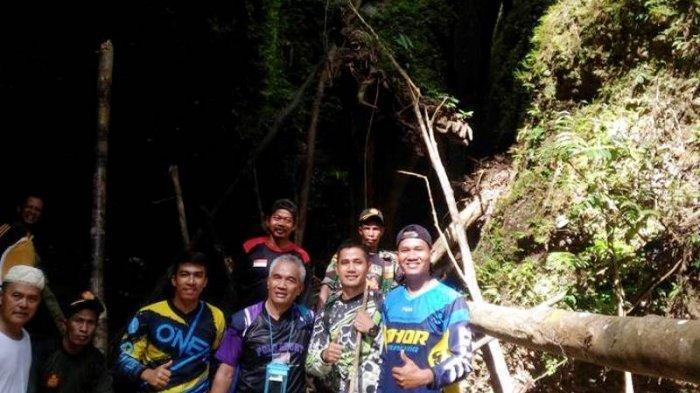 Bertualang ke Lorong Batu Belah Kecamatan Batang Cenaku, Rahasia Keindahan Hutan Alami Inhu