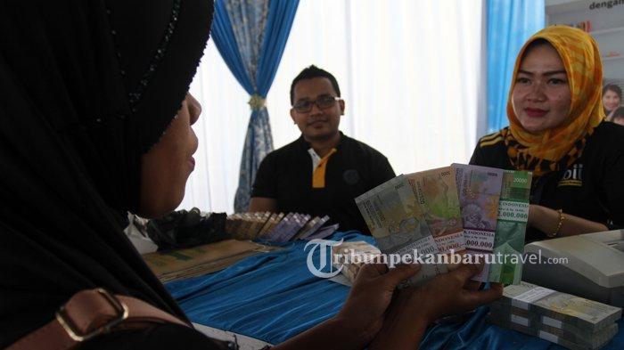 Dampak Covid-19, Tahun Ini Penukaran Uang Pecahan Kecil Menurun di Riau
