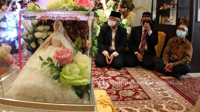 FOTO : Pernikahan Pasangan Pengantin di Tengah Pandemi Covid-19 di Pekanbaru - pernikahan-saat-pandemi-covid5.jpg
