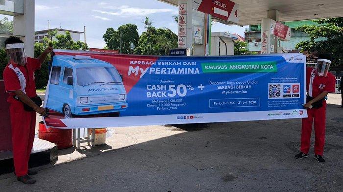 Isi BBM, Sopir Angkot Bisa Dapatkan Cashback 50 Persen Setiap Hari dari Pertamina
