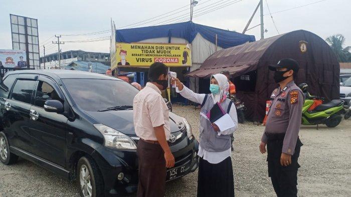 Batasi Keluar Masuk Orang Saat Libur Panjang, Pos Pemeriksaan di Perbatasan Riau Kembali Diaktifkan