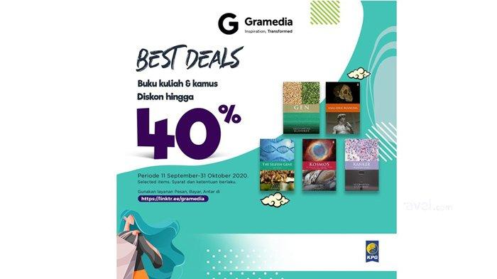 Promo Best Deal untuk buku kuliah dan kamus