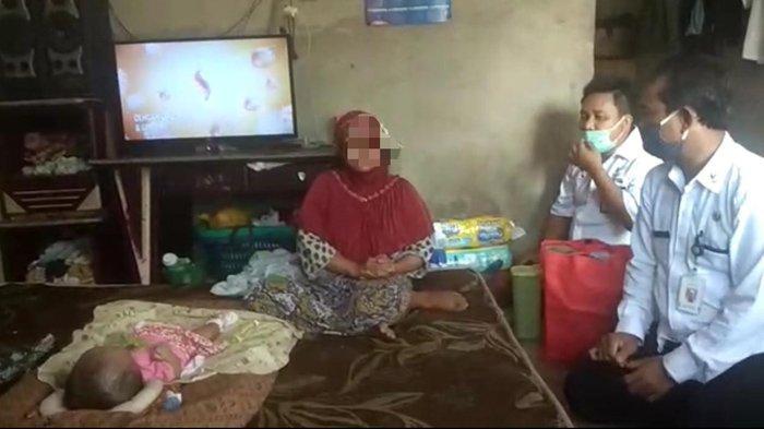 Balai Anak Rumbai Lakukan Pendampingan Terhadap Bayi Penderita Hidrosefalus di Siak