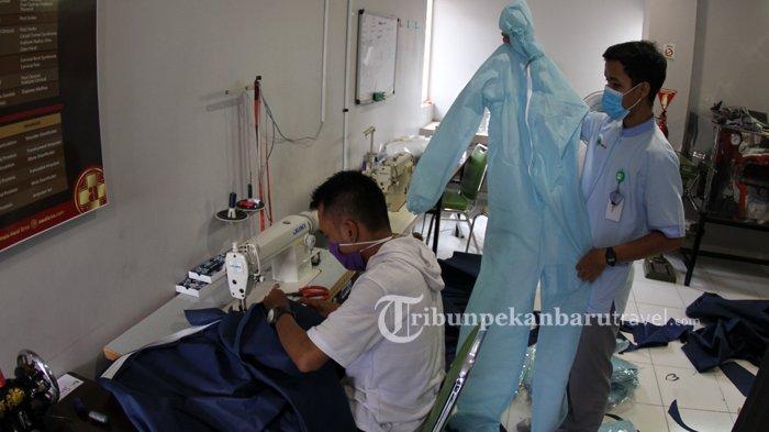Antisipasi Kelangkaan, RS Awal Bros Grup Bersama Relawan Produksi APD Untuk Tim Medis