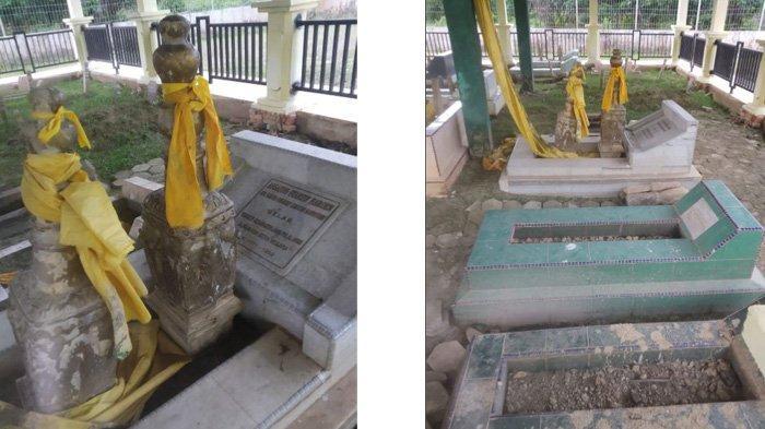 Situs Cagar Budaya Makam Raja Pelalawan III di Kecamatan Pelalawan Kabupaten Pelalawan