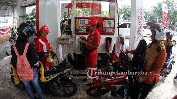 Soal Kepadatan Kendaraan di Sejumlah SPBU Kota Pekanbaru, Ini Penjelasan Pertamina