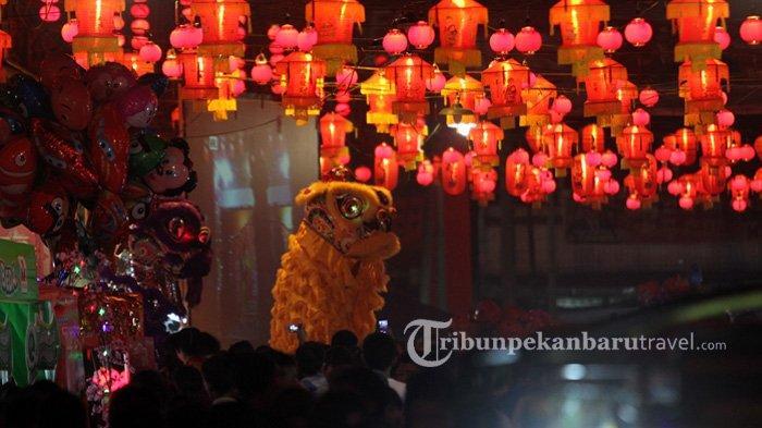 Berbeda dari Tahun-tahun Sebelumnya, Perayaan Imlek 2572 di Jalan Karet Pekanbaru Ditiadakan