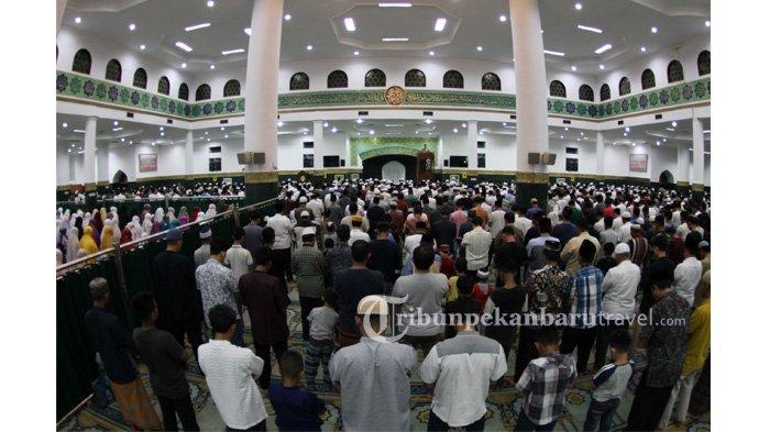 Pemprov Riau Izinkan Salat Tarawih dan Tadurusan di Masjid Selama Ramadan