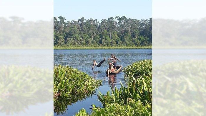 Tasik Nambus yang Memesona, Surga Tersembunyi di Tengah Belantara Hutan Kabupaten Kepulauan Meranti