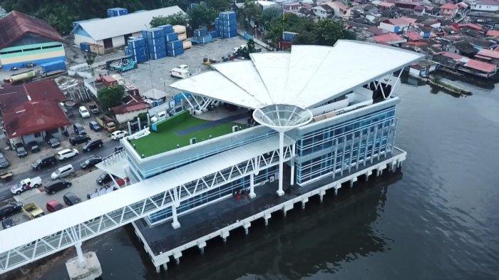 Terminal Penumpang di Pelabuhan Sibolga