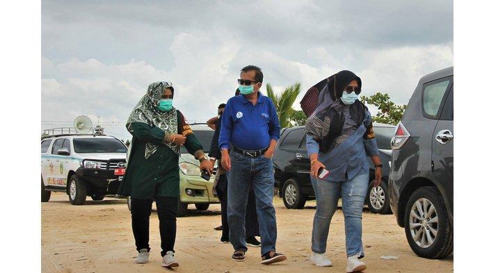 Tinjau Objek Wisata, Tim Satgas Dumai Sosialisasikan Prokes Pencegahan Covid-19