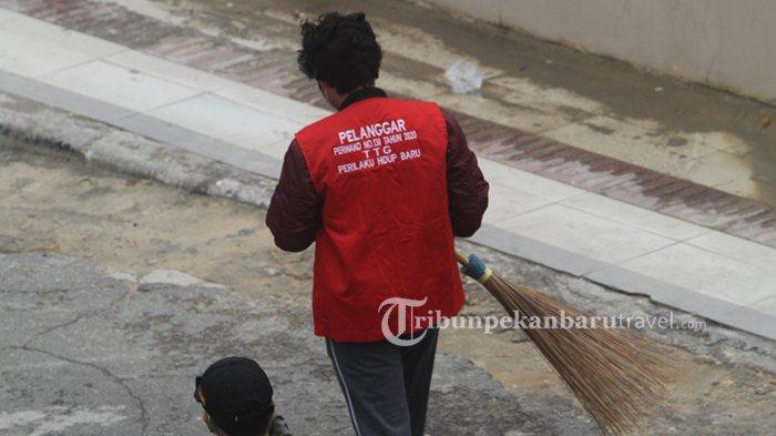Terjaring Razia Prokes, Pria ini Pilih Bayar Denda Rp 100 Ribu Daripada Pidana Kurungan Tiga Hari