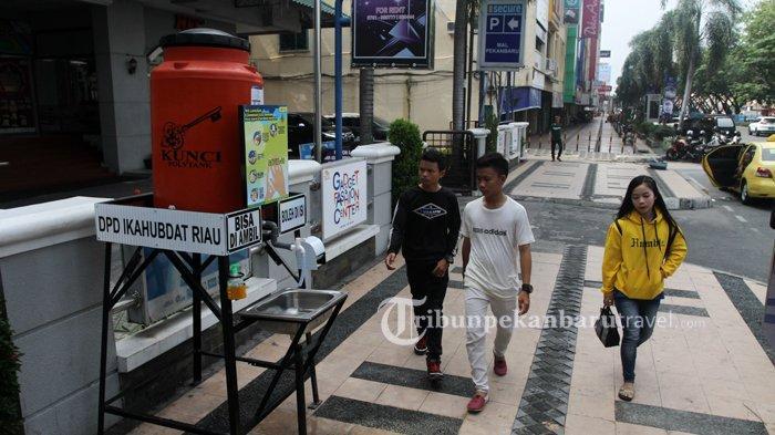 FOTO : Wastafel Portable Disediakan di Pedestrian Jalan Sudirman Pekanbaru - wastafel-portable1.jpg