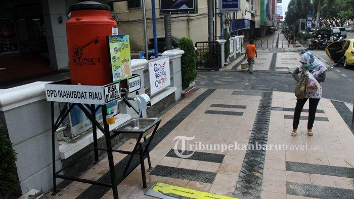 FOTO : Wastafel Portable Disediakan di Pedestrian Jalan Sudirman Pekanbaru - wastafel-portable2.jpg