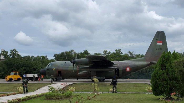 47 Napi Narkoba di Riau Dipindahkan ke Penjara Nusakambangan , Diangkut Pesawat Hercules