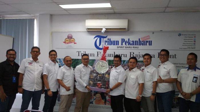 AFFCO Riau Kunjungi Tribun Pekanbaru