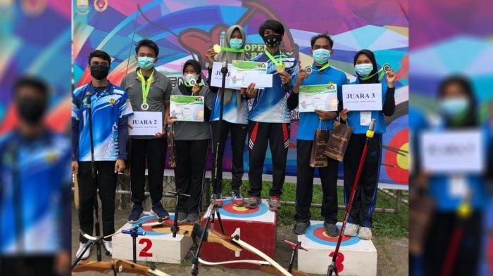 Atlet Panahan Siak Riau Peroleh 2 Medali Emas di Kejuaraan Jambi Open Archery Tournament 2021
