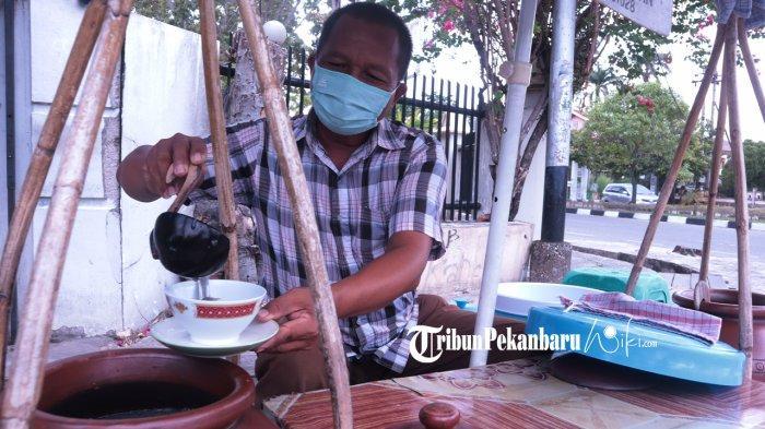 Segarnya Es Dawet Aren Pak Min di Pekanbaru