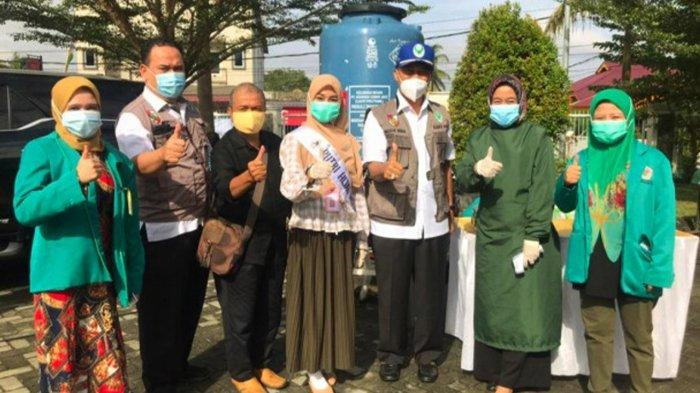 Auliya Fajri Putri Hijab Indonesia 2020 Ajak Kaum Melenial Riau Dukung Vaksinasi Covid-19