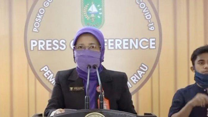 Kasus Covid 19 di Riau Bertambah 38 Orang