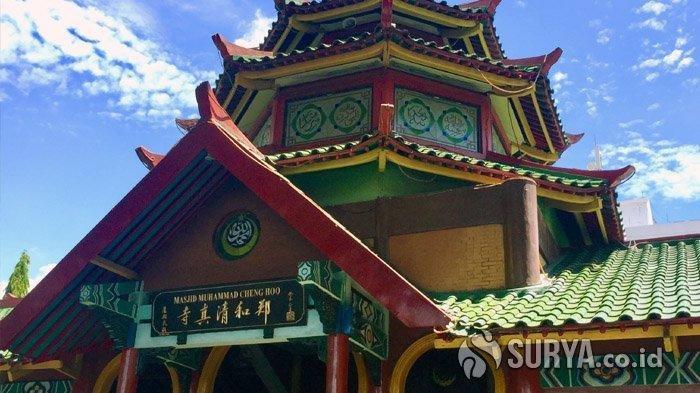 5 Masjid di Indonesia dengan Arsitektur Tionghoa