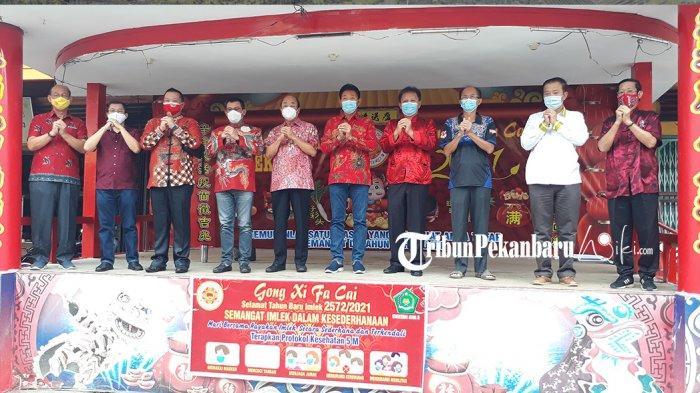 Perayaan Imlek Bersama 2021 di Pekanbaru Riau Ditiadakan