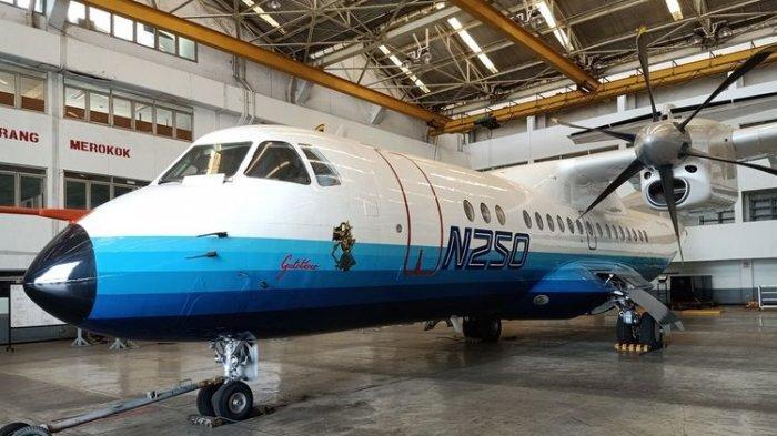 Pesawat Pertama Buatan Indonesia, Pesawat N250 Gatotkaca