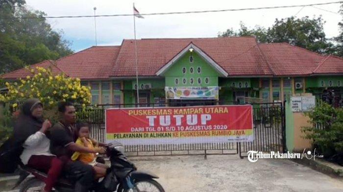 Tiga Puskesmas di Kampar Riau Ditutup Karena Covid 19