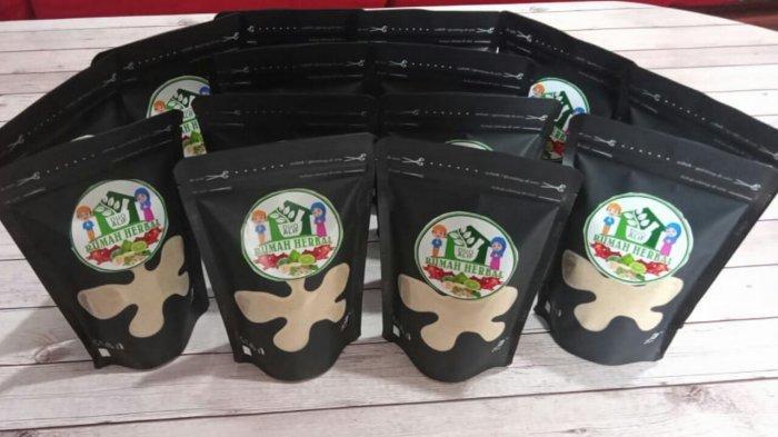 Produk herbal dari rumah herbal Duo Alif milik Jendral Effendi