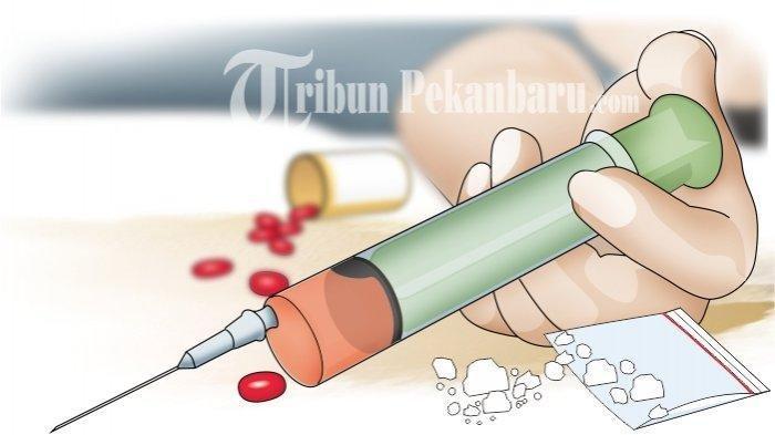 Polres Rohil Ungkap 213 Kasus Narkotika Sepanjang 2020
