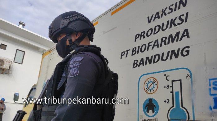 24.640 Dosis Vaksin Covid-19 Tahap Ke 3 Tiba di Riau
