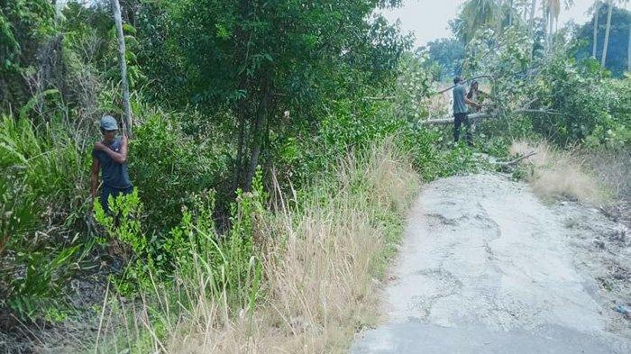Puluhan Tahun Warga Dusun Tanah Kuning Riau Impikan Listrik