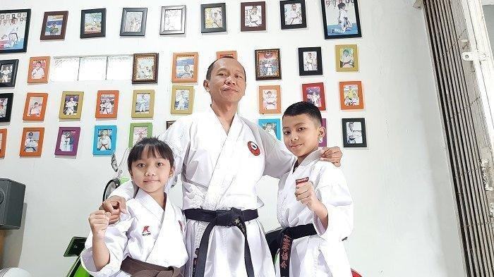 Zahran dan Zahira , Dua Bocah Indoensia Sandang Juara Karate Tingkat Dunia