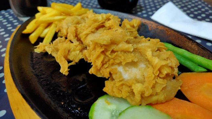 Chicken Steak Murah dan Lezat, Unique Kafe jadi Pilihan