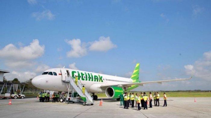 Pesawat airbus milik Citilink.